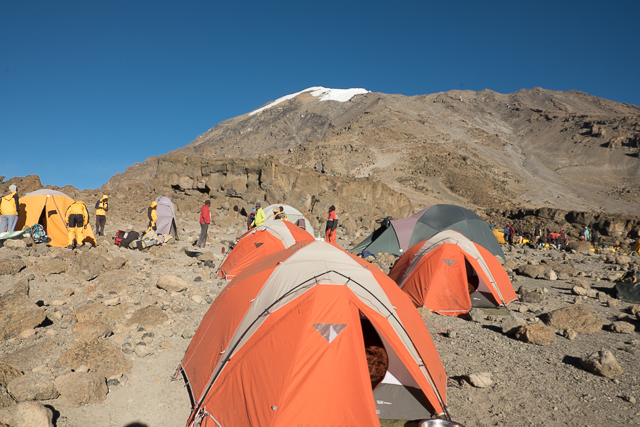 Barafu High Camp 15,350ft (4,677m)