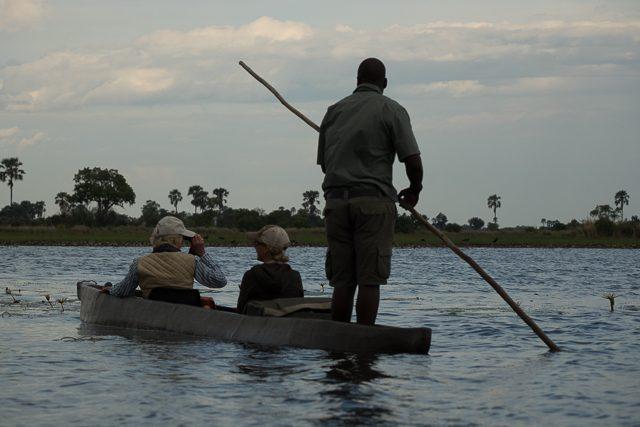 mokoro ride in the Delta