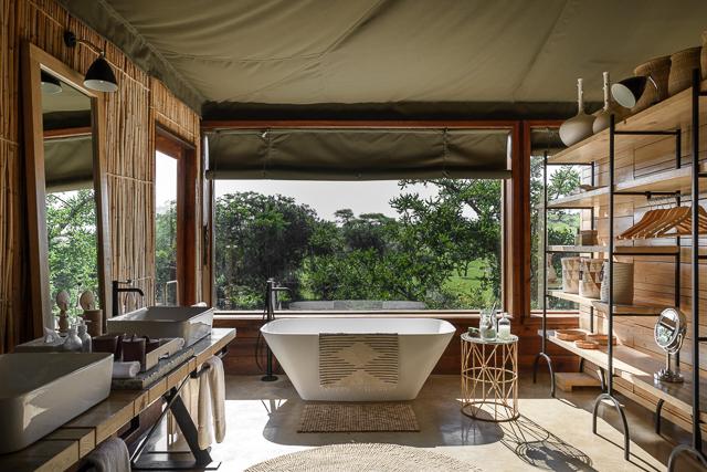 Singita Faru Faru Lodge - Bathtub