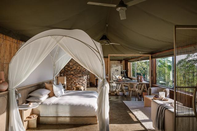 Singita Faru Faru Lodge -Bedroom