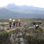 Nine days hiking Africa's highest mountain