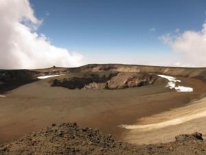 Kibo's Reusch Crater
