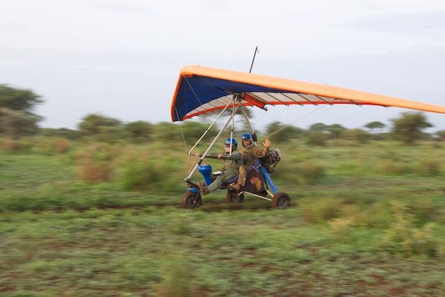 Micro-lite landing