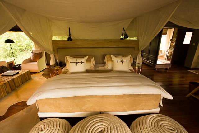 Mwiba Lodge bed