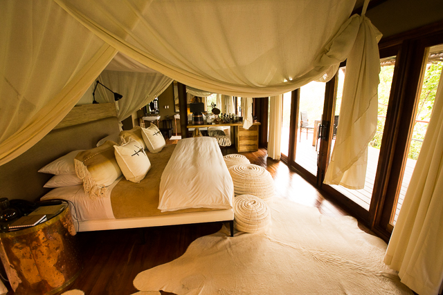 Mwiba Lodge bedroom