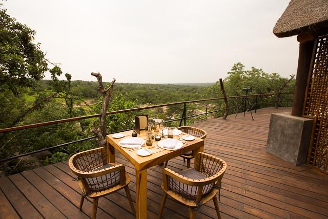 Mwiba Lodge deck