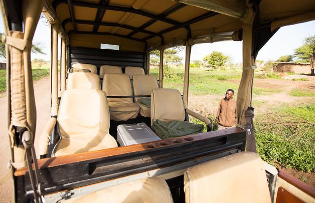 Mwiba Lodge safari vehicle