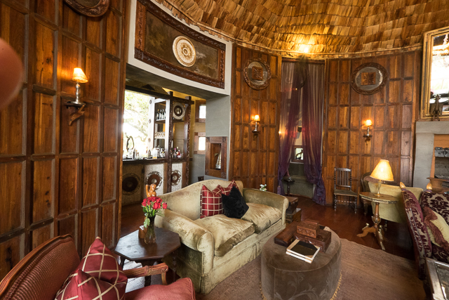 Ngorongoro Crater Lodge lounge