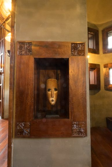 Ngorongoro Crater Lodge art