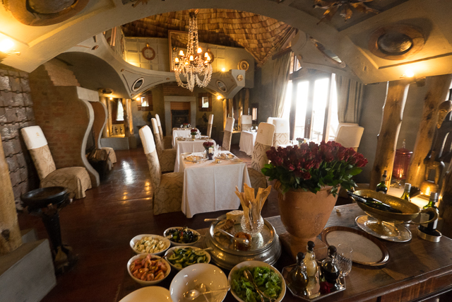 Ngorongoro Crater Lodge breakfast