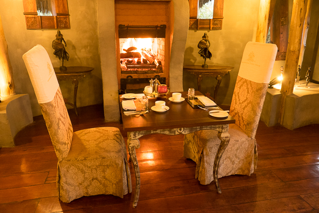 Ngorongoro Crater Lodge dining