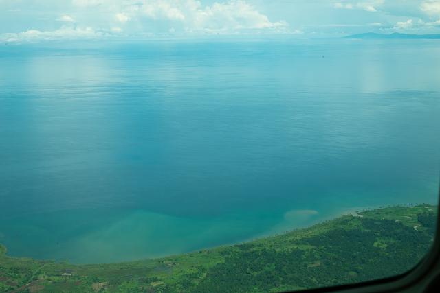 Lake Tanganyika from the air