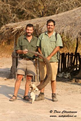 Dave Christensen and Dr Pedro Vaz Pinto